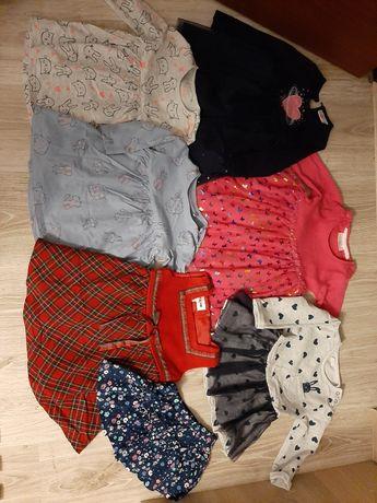 Ubranka dla dziewczynki rozm 74