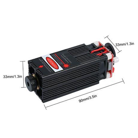 Лазерный модуль 2,5 вт . Лазер 2500 мВт. Лазер для гравера