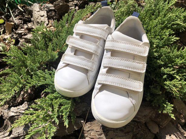 Кроссовки - кеды белые 31 h&m