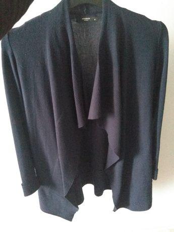 Kardigan sweter narzutka granatowy/granatowa Reserved