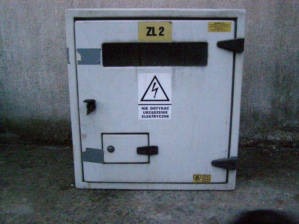 Skrzynka elektryczna przyłączeniowa zewnętrzna 60x55x24