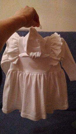 Плаття, лосінки, пов'язочка на голівку