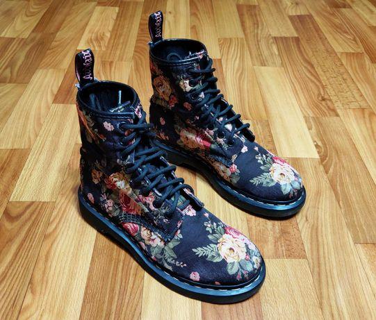 Женские ботинки dr.martens floral (24 см)