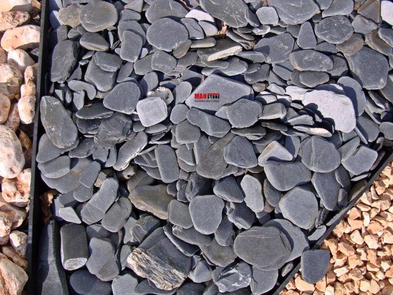 otoczak czarny płaski, kamień naturalny, kamień grodowy Poniatowa - image 1