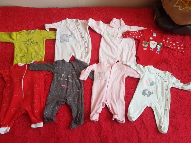 Paka ubrań dla zestaw niemowlaka dziewczynki noworodka body wyprawka