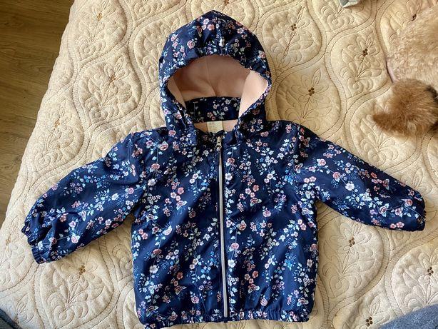 Куртка 4-6 месяцев весенняя на девочку H&M