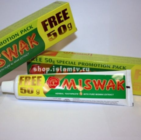 Зубная паста Miswak