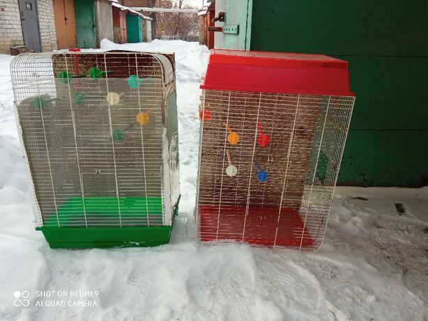 Клетки для птиц б/у