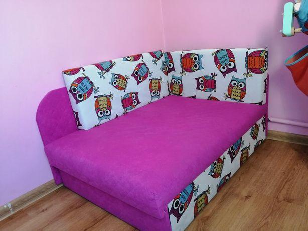 Łóżko kanapa sofa tapczan narożnik dziecięcy Kubuś