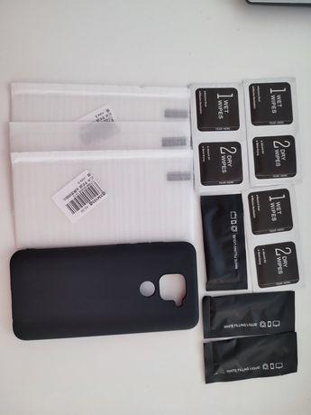 Capa e 3 películas Xiaomi Redmi Note 9
