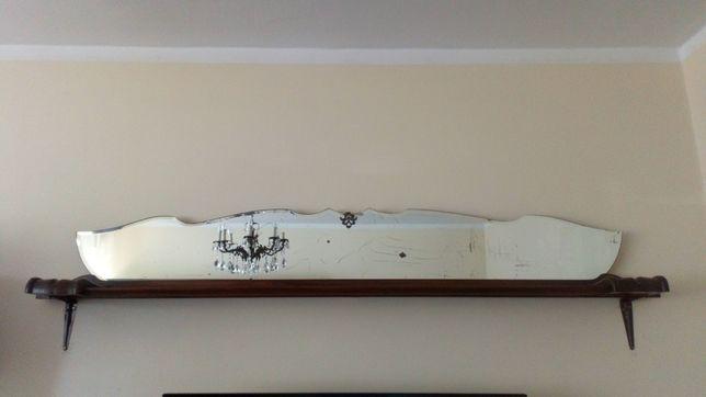 Półka regał antyk staroć lustro