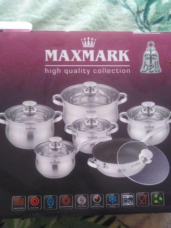 Набор кастрюль maxmark