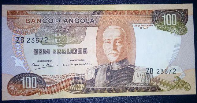 Nota 100$00 Angola MBC