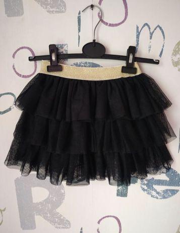 Черная пышная юбка пачка фатиновая
