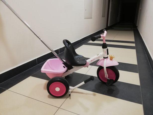 Rowerek trzykołowy Kettler - dla dziewczynki.