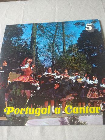 CONJUNTO 4 Discos Vinil Portugueses