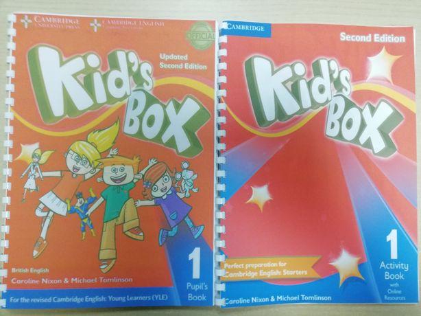 англійська мова підручник для дітей Kid's Box 1-5