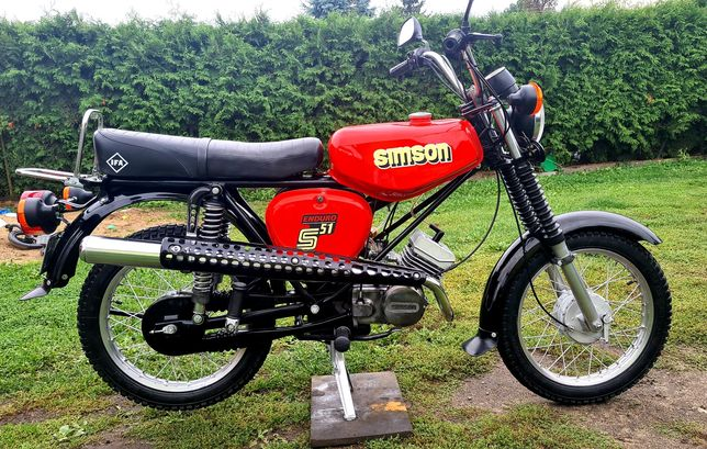 Simson S51 Enduro Elektronik