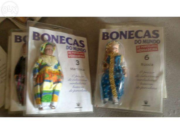 Bonecas de porcelana do mundo verdadeir
