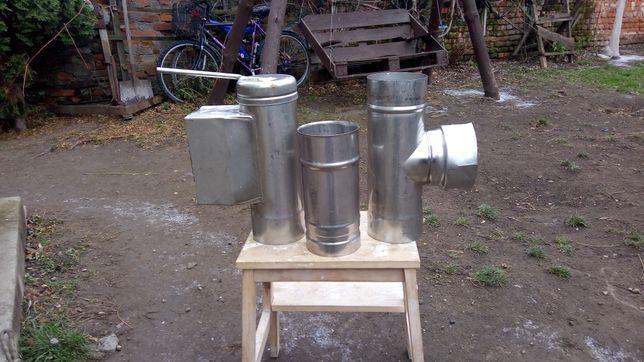 Sprzedam rury kształtki kominowe firmy Wadex 113 mm