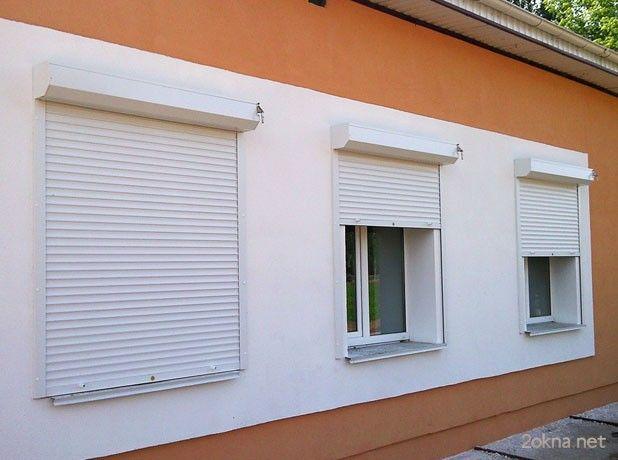 Роллеты защитные на окна и гаражные