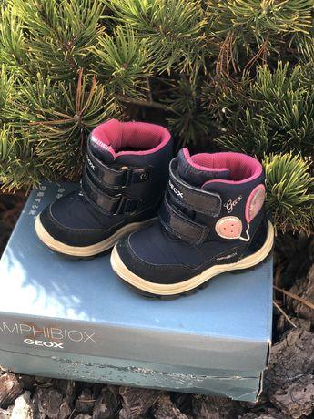Ботинки Geox  21 размер, еврозима