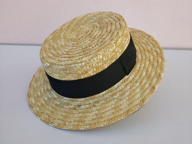 Chapéu de Palha Natural Tamanho 56