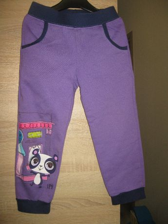 Litlle Pet Shop spodnie dresowe 110-116 cm 5-6 lat