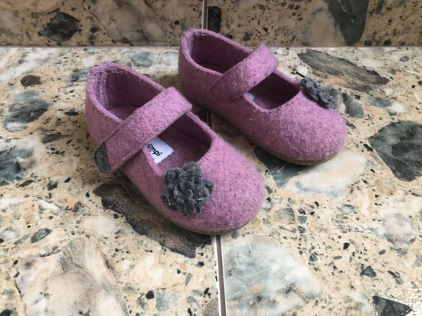 Impidimpi тапочки балетки туфельки в садик или дома