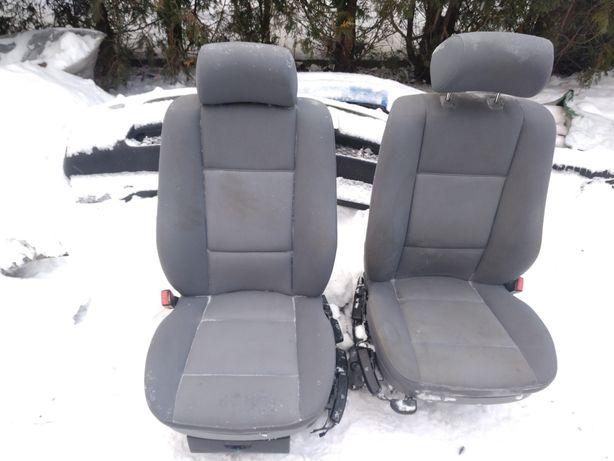 Fotel fotele przód BMW e53 ręczne grzane welur