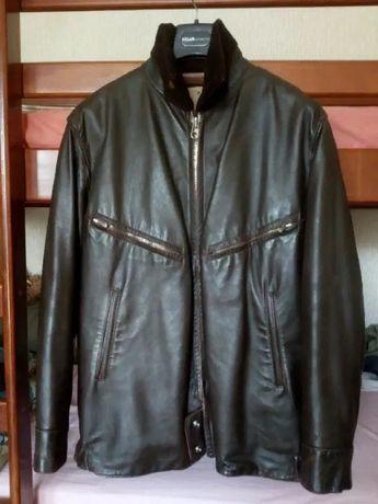 Лётная. ВВС. Куртка стильная. Кожа. Новая.