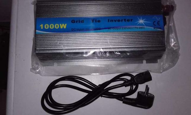 Inversor de injectar MPPT Grid Tie Inverter 1000W 12V ou 24V onda pura