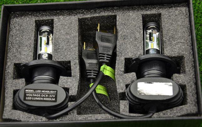 Лед Лампы s1 Лэд H7 LED H1 H4 Автомобильные Cветодиодные аш 30000часов