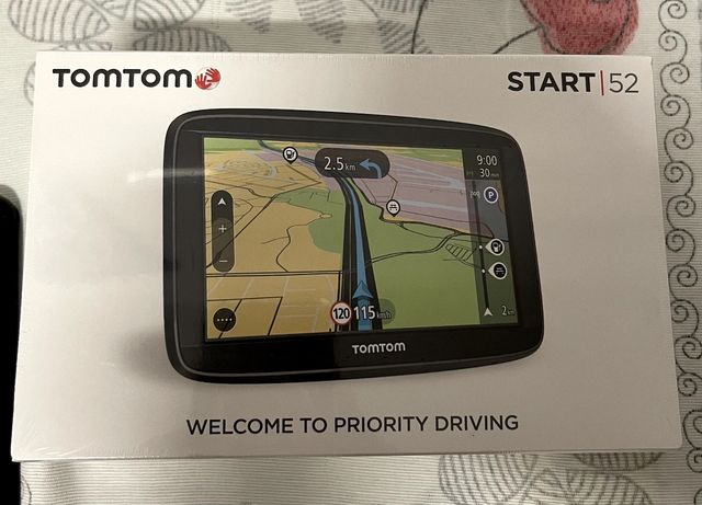 TomTom Start 52 Mapas Europa Troco por Earbuds
