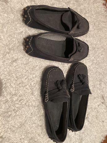 Sapatos mocassins zara