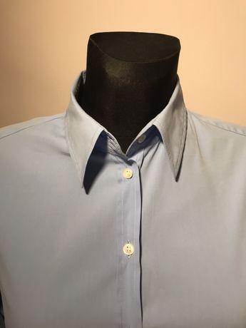 Elegancka niebieska koszula Italy L