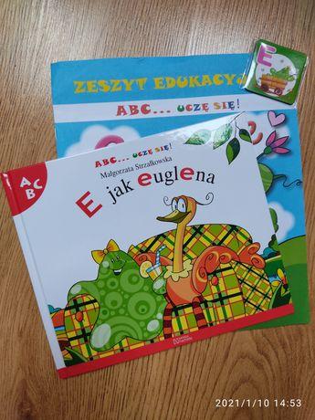 ABC uczę się, kolekcja Hachette, E jak Euglena