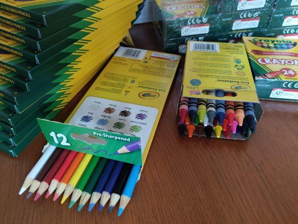 Качественные оригинальные карандаши фломастеры Crayola