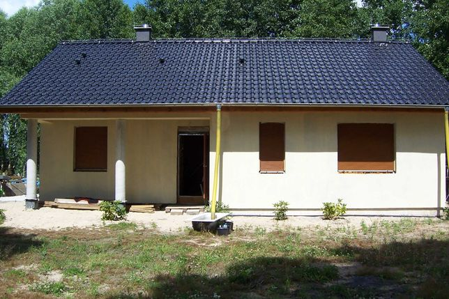 Dom jednorodzinny do wykończenia