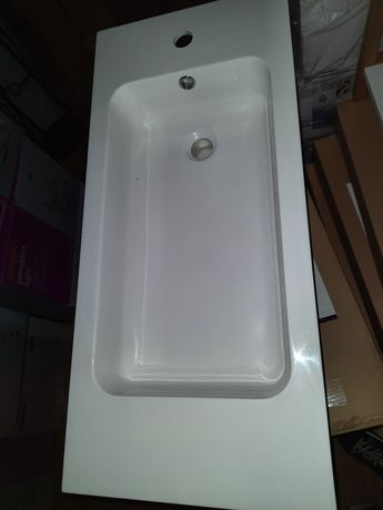 Umywalka nablatowa łazienkowa MAKONDA 80x36 **NOWA** KgMraT