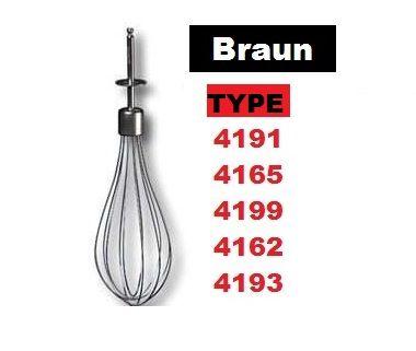 Насадка венчик блендера Браун Braun 4162 4191 4199 4165 4200 600Turb