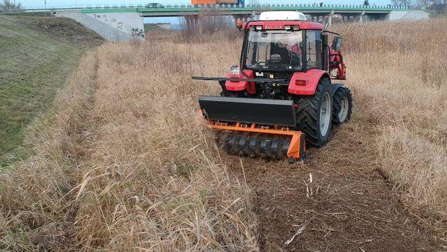Kosiarka ORKAN KL 180 mulczer leśny rozdrabniacz do niszczenia krzaków