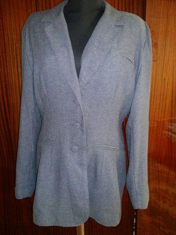 Пиджак удлиненный размер 46