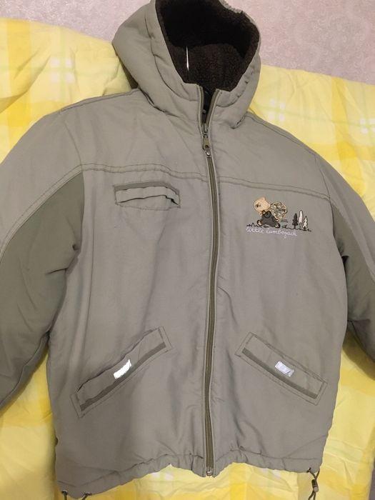 Зимова куртка для хлопчика 5-6 років,р.122, ціна 90 грн Владимир-Волынский - изображение 1