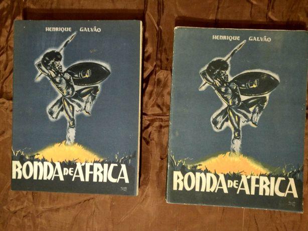 GALVÃO, Henrique.- Ronda de África - viagens em Moçambique
