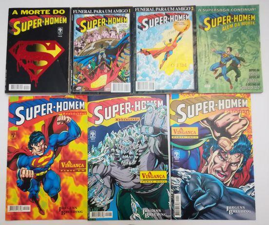 58 Livros do Super-homem