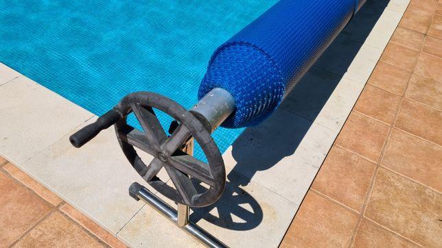 Cobertura de proteção para piscina