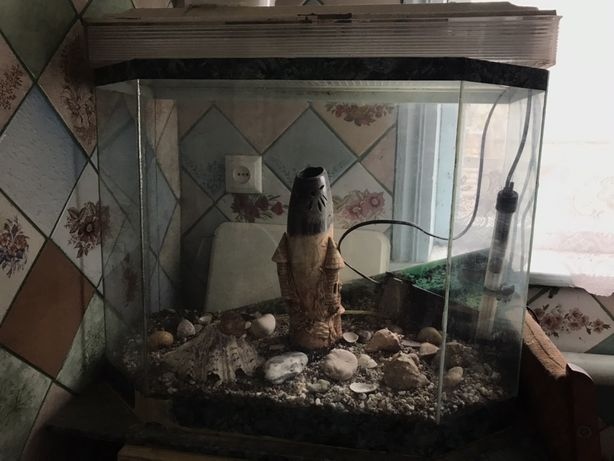 Продам 100л аквариум