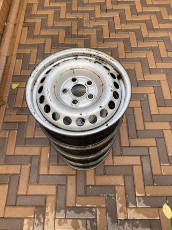 Железные диски R 16 на vw t5