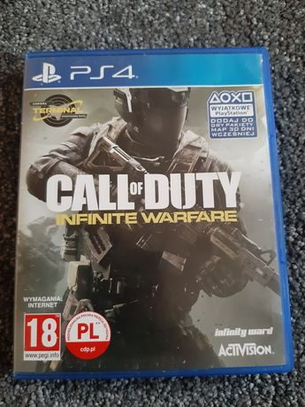 Gra Gall of Duty infinite Warfare na ps4